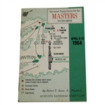 1964 Masters Spectator Guide - Arnold Palmer Wins 7th & Final Major
