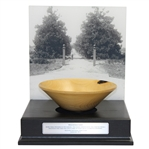 2012 Jamboree Magnolia Lane Bowl with Mounted Picture - Seldom Seen - Wow!