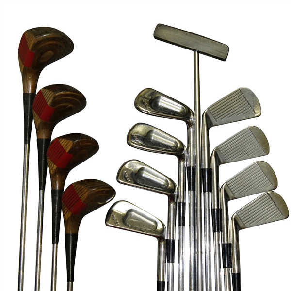 Redwood City 1-A Putter, PING 2-9 Irons, & 4 PING Woods