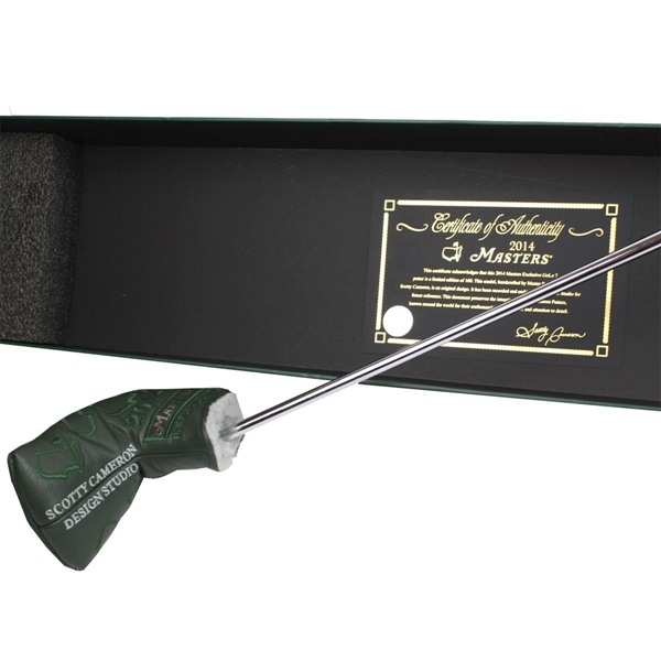 2014 Scotty Cameron N-7 Masters Golo Commemorative Putter-Only 100 Made!
