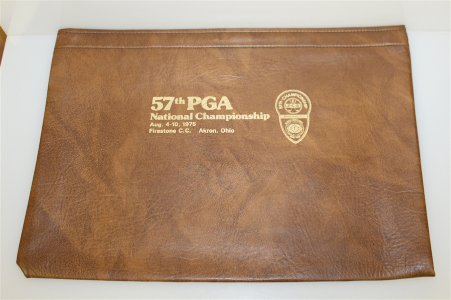 6 Press Bags From Golf Writers Cup, 1984 US Amateur, 1980 US Open, 57th PGA Championship, 1986 US Open, & 89th US Open