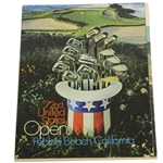 Jack Nicklaus, Player, Casper, & others Signed 1972 US Open Program JSA ALOA