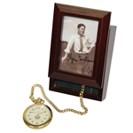 Byron Nelson Gold Eleven Straight Ltd Ed Pocket Watch w/ Signed Box JSA ALOA