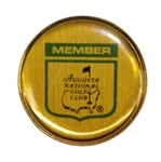 Vintage Augusta National Golf Club Members Round Pin