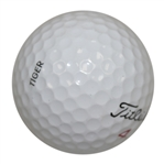 Tiger Woods Used Personal Titleist Ball