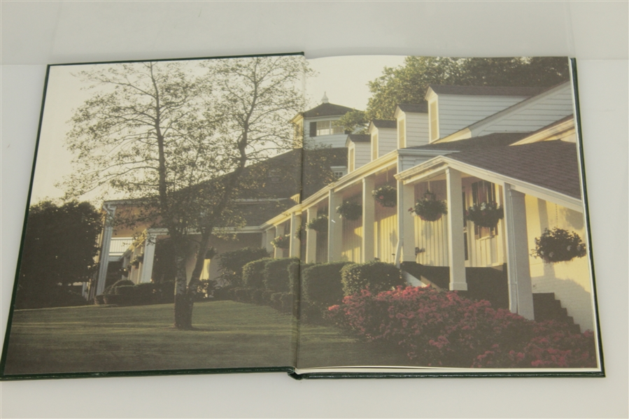 1985 Masters Tournament Annual Book - Signed By Winner Bernard Langer JSA ALOA