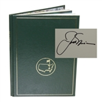 1986 Masters Tournament Annual Book - Signed By Winner Jack Nicklaus JSA ALOA