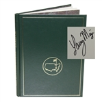 1987 Masters Tournament Annual Book - Signed By Winner Larry Mize JSA ALOA
