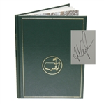 1992 Masters Tournament Annual Book - Signed By Winner Fred Couples JSA ALOA