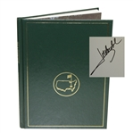 1994 Masters Tournament Annual Book - Signed By Winner Joes Maria Olazabal JSA ALOA
