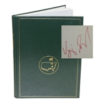 2000 Masters Tournament Annual Book - Signed By Winner Vijay Singh JSA ALOA