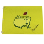 1997 Masters Embroidered Undated Flag - Signed By 1998 Champion Mark O Meara JSA ALOA