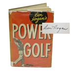 Ben Hogan Signed 1948 Power Golf JSA ALOA