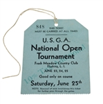1932 US Open Championship at Fresh Meadow Country Club Final Round Ticket - Gene Sarazen Winner