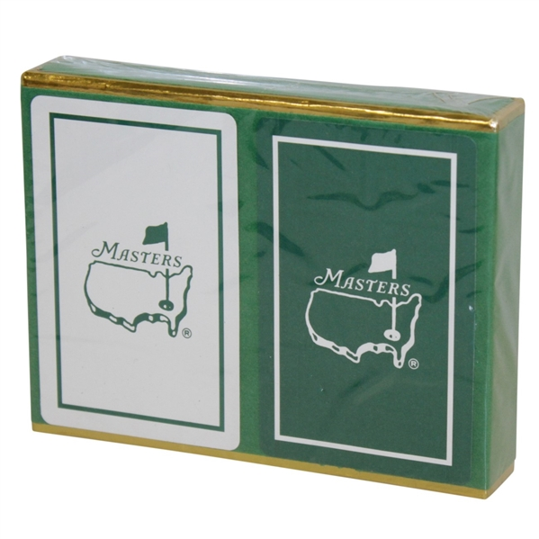 Masters Playing Cards Set New in Box w/ Gold Trim - Classic Look