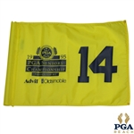 1995 PGA Seniors Championship Tournament Used Flag Hole #14 - Ray Floyd Victory