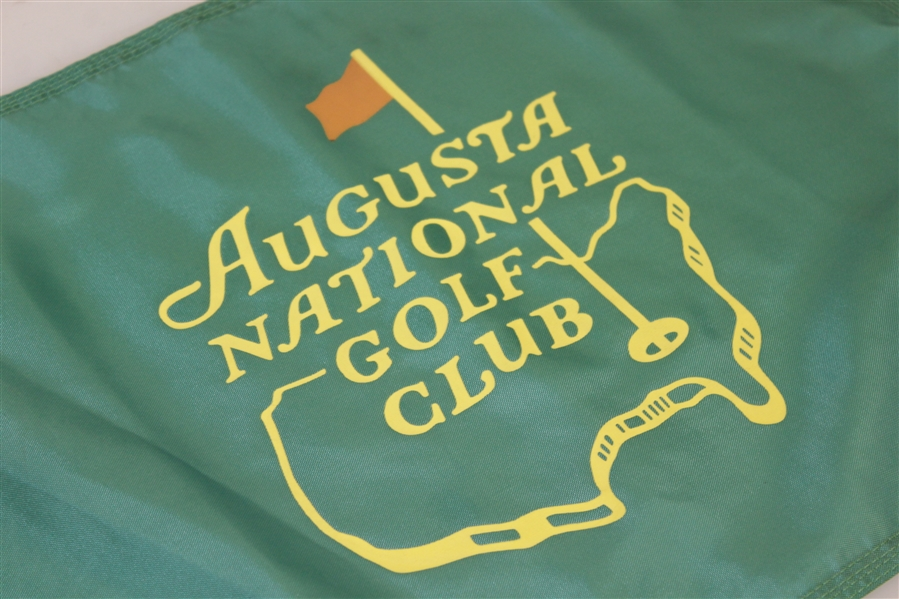 Augusta National Golf Club Course Used Flag - Difficult Green Version