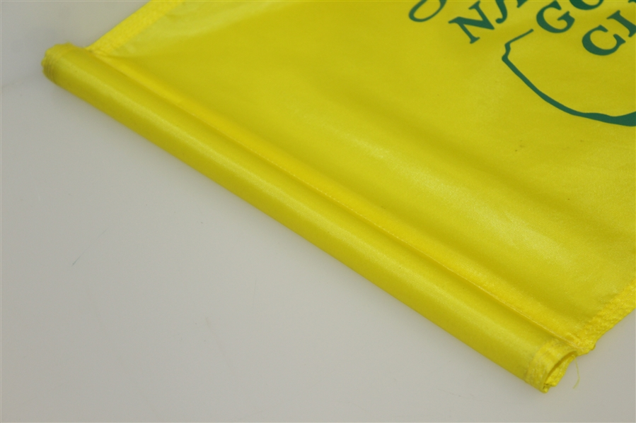 Augusta National Golf Club Yellow Course Used Flag - Classic Version