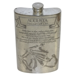 Augusta National Golf Club English Pewter Golf Flask - Excellent Condition