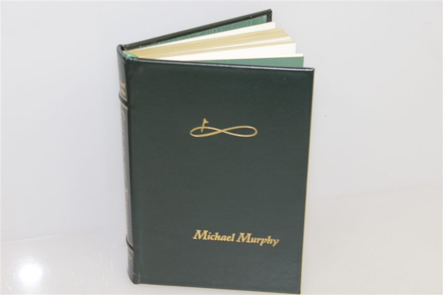 'Golf In the Kingdom' Author Michael Murphy Signed Limited Leather Edition in Slipcase & Box