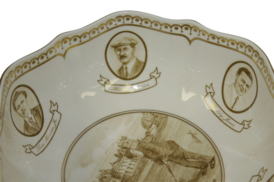 Aynsley Porcelain Old St Andrews Bowl, 250/2000, Designed By Bill Waugh