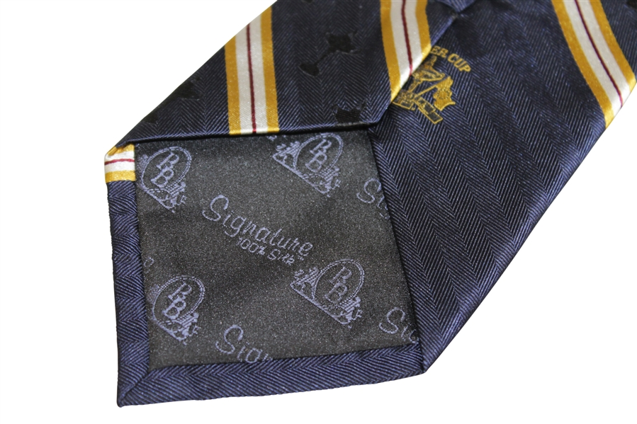 2008 Ryder Cup at Valhalla Tie - Royal Blue w/ Diagonal Stripes