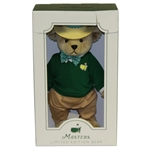 2019 Masters Tournament Home Collection Ltd Ed Bear in Original Box #130/200