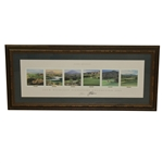 Jack Nicklaus Signed Deluxe Framed 2004 Desert Mountain Signature Collection JSA ALOA