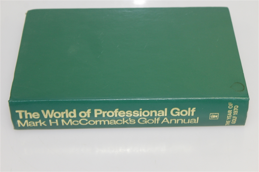 The World of Professional Golf by Mark H. McCormack - 1971