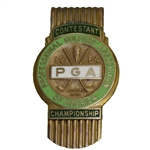 1954 PGA Championship at Keller GC Contestant Money Clip - Chick Harbert Winner