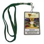 Deane Bemans 2007 The Presidents Cup Invite Commissioners Hospitality Badge