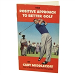 1959 Carry Middlecoff The Positive Approach to Better Golf Pamphlet