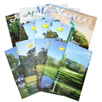 Twelve Masters Journals, Spectator Guides, Information Pamphlets - Multiple Years