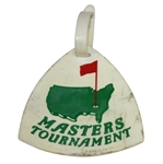 Vintage Masters Tournament Plastic Bag Tag - Howard B. Bell