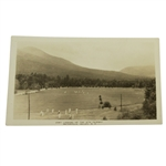 Vintage Waterville Valley Looking up the 6th Fairway Post Card - New Hampshire