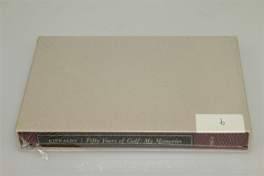 'Fifty Years of Golf: My Memories' by Kirkaldy of USGA - Wrapped in Slipcase