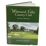 Arnold Palmer Signed Whitemarsh Valley CC First Hundred Years Book w/ Bednarek JSA ALOA