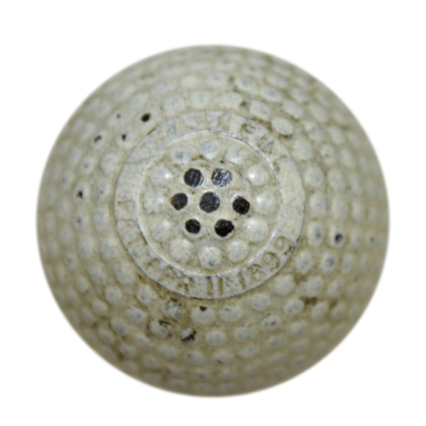 Haskell Bramble Pat. April 1899 Golf Ball