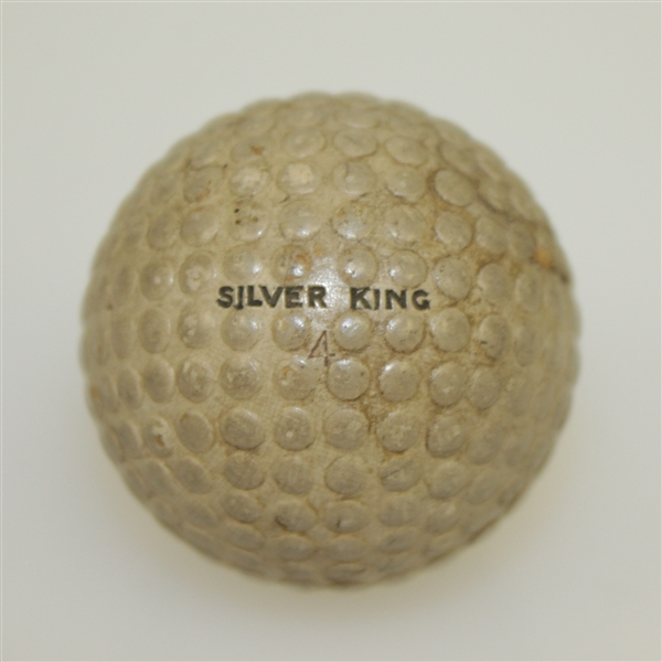 Vintage Silver King Bramble Pattern Golf Ball