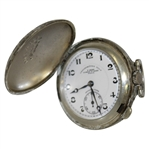 Chronometre Gutty Style Golf Ball Pocket Watch w/ Paris Face Marking - Fully Working
