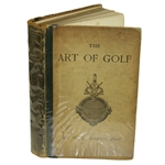 1887 The Art of Golf 1st Edition Book by Sir W. G. Simpson