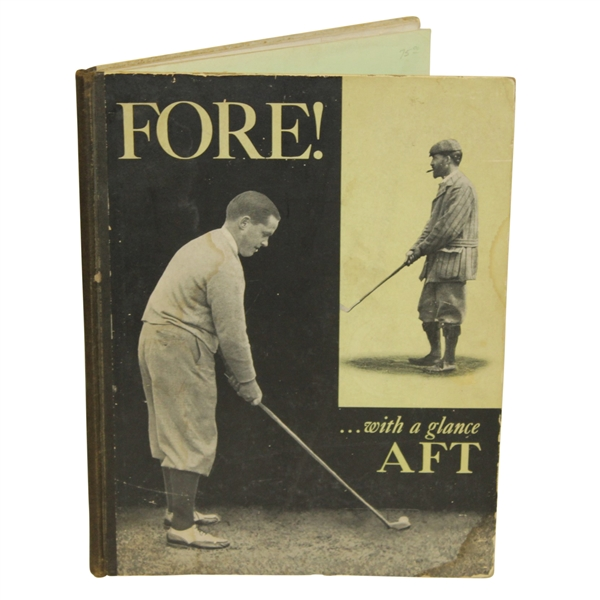 'Fore..With a Glance AFT' Book by Grantland Rice