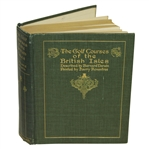1910 The Golf Courses of the British Isles Book by Bernard Darwin