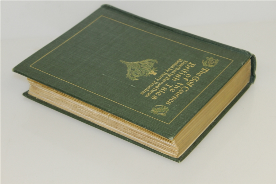 1910 'The Golf Courses of the British Isles' Book by Bernard Darwin