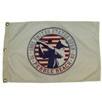 1992 US Open Pebble Beach Flag - Tom Kite Victory