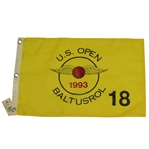 1993 US Open at Baltusrol Flag - Lee Janzen Winner