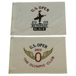 US Open Embroidered Flags from 2009 & 2012 - Glover and Simpson Victories