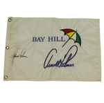 Arnold Palmer Signed Bay Hill Umbrella Embroidered Flag JSA ALOA
