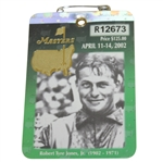 2002 Masters Series Badge #R12673 - Tigers 3rd Masters Win