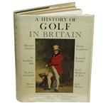 Signed A History of Golf Britain 1st Ed. - Sarazen, Locke, Cotton, Darwin, Padgham etc. JSA ALOA